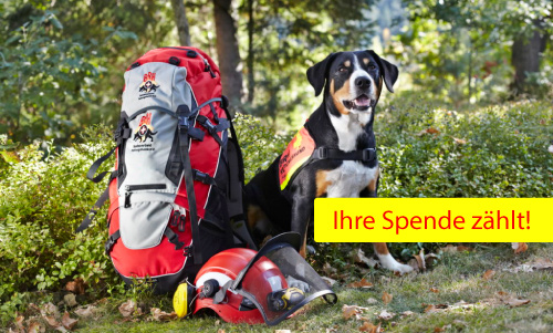 Spendenkonto der Rettungshundestaffel Unterland e.V.