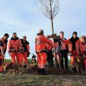 Rettungshundestaffel pflanzt Baum des Jahres
