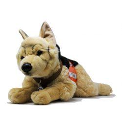 G3 Schäferhund mit Geschirr und Kenndecke